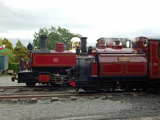 Prince at the Talyllyn Railway 150