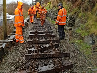 Waggon Tracks Working Parties on the Mainline
