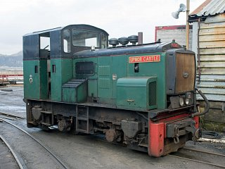 The first FR main line diesel, Upnor Castle