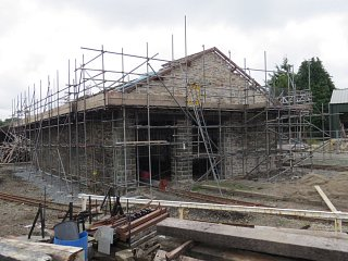 Minffordd Goods Shed Major Work
