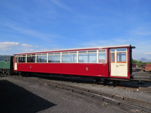 Carriage 118 completed at Boston Lodge